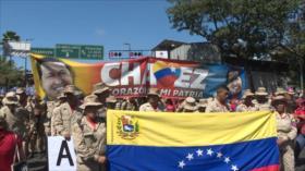 Miles de venezolanos marchan contra imperialismo en Caracas