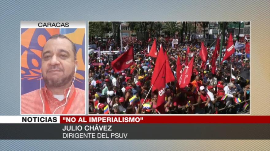 Chávez: El imperio de EEUU no ganará ante el pueblo bolivariano