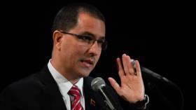Arreaza: Venezuela, dispuesta a dialogar con EEUU, pero sin Pompeo