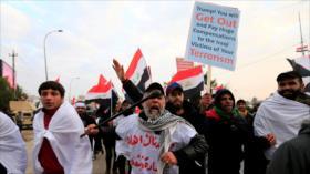 Iraquíes prometen expulsar a tropas estadounidenses de su país