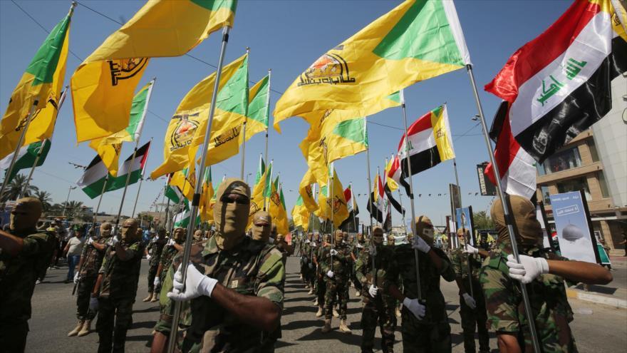 Hezbolá de Irak: Iraquíes, unidos, gritan contra presencia de EEUU | HISPANTV