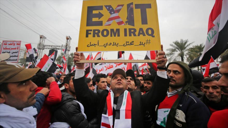 Líder iraquí: Expulsaremos a EEUU con toda nuestra fuerza | HISPANTV