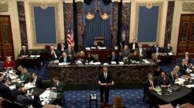 Demócratas presentan argumentos sobre abuso de poder de Trump