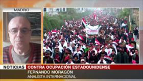 Moragón: La retirada de EEUU es falsa, Irak sigue bajo ocupación