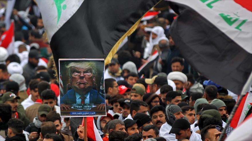 Medios se hacen eco de las marchas anti-EEUU en Irak | HISPANTV