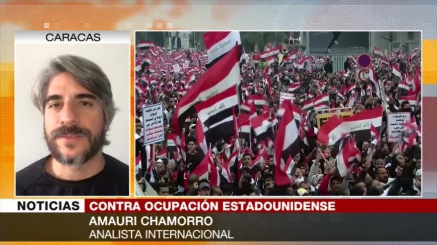 Chamorro: Gran marcha de los iraquíes es una derrota para EEUU