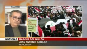 Aguilar: Iraquíes piden ejercer su derecho a soberanía ante EEUU