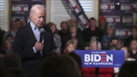 """Biden critica ocultación """"repugnante"""" de Trump sobre ataque iraní"""