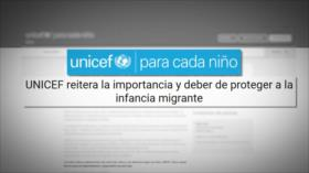 Unicef pide a México garantizar los derechos de niños migrantes