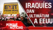 El Porqué de las Noticias: Marcha del Millón en Irak. Polémico plan de paz de Trump. Tensión Bolivia-Cuba