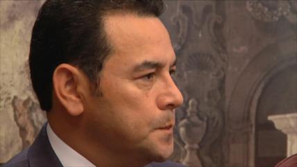 Jimmy Morales, peor presidente de la era democrática de Guatemala