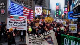 """Convocan protestas mundiales para decir """"no a guerra contra Irán"""""""