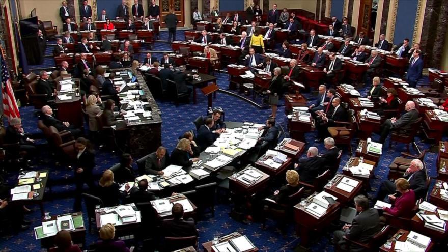 Concluye en EEUU fase de alegatos en juicio político contra Trump
