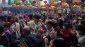 China acoge Año Nuevo Lunar entre fuertes medidas por coronavirus