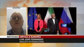 Europa no es capaz de hacer frente a Trump en el asunto de Irán