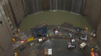 Bajo nivel de aguas pone en riesgo operaciones de Canal de Panamá