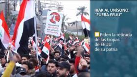 """PoliMedios: Irak al unísono; """"Fuera EEUU"""""""