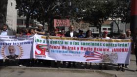 Venezolanos gritan: No a la Guerra de Estados Unidos contra Irán