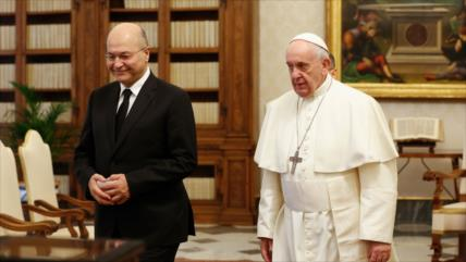 Papa Francisco apoya a Irak en el llamado a respetar su soberanía