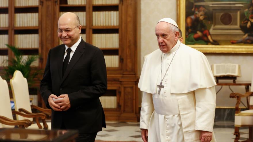 Papa Francisco apoya a Irak en el llamado a respetar su soberanía | HISPANTV
