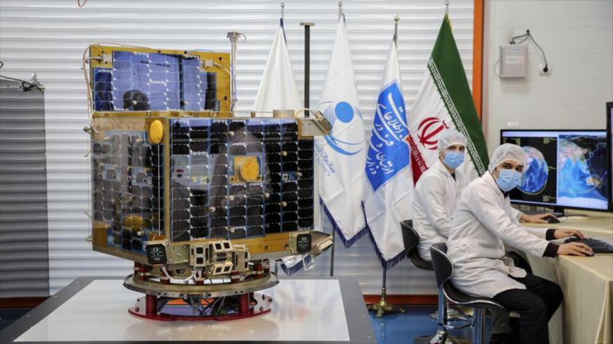 El satélite Zafar, fabricado por expertos iraníes.