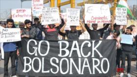 Indios repudian visita de Bolsonaro 'misógino y racista' a su país