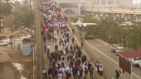 Marchas en Irak echan por tierra mentiras de medios extranjeros