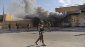 Varios cohetes impactan contra la embajada de EEUU en Bagdad