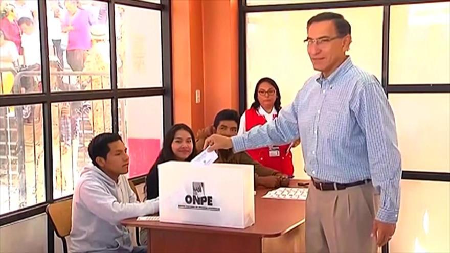 Peruanos comienzan a votar en elecciones congresales de 2020 | HISPANTV