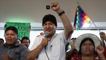 El MAS de Evo Morales lidera intención de voto en Bolivia