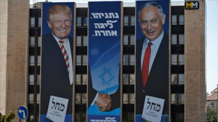 Plan de Trump busca impulsar la campaña electoral de Netanyahu