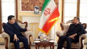 Irán reitera su total apoyo a la integridad territorial de Siria
