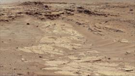 Foto: La NASA revela posibles capas de arenisca en Marte