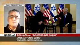 """Egido: """"Acuerdo de siglo"""" no es en absoluto un plan de paz"""