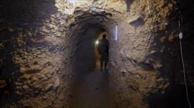 Vídeo: Ejército halla el túnel más largo de terroristas en Idlib