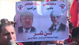 """Los palestinos rechazan el llamado """"acuerdo del siglo"""" de EEUU"""