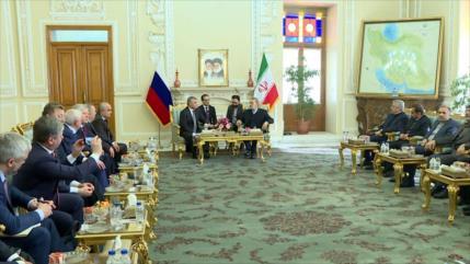 Irán y Rusia fortalecen vínculos parlamentarios