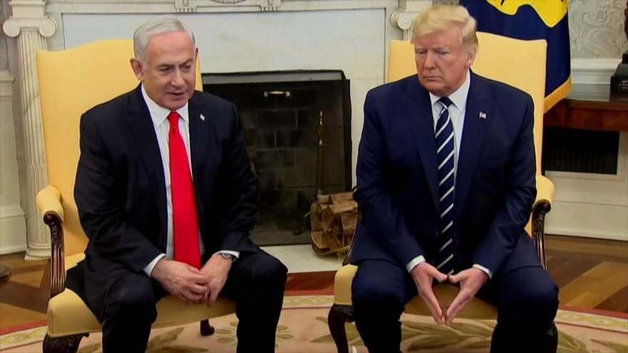 """Trump presentará este martes su """"plan de paz"""" para Oriente Medio"""