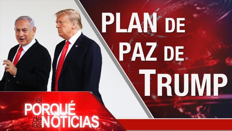 El Porqué de las Noticias: Acuerdo del siglo de Trump. Elecciones en Bolivia. Quim Torra