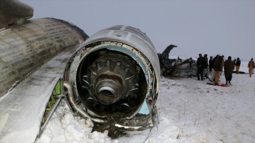 Más de 100 muertos en el derribo de avión de EEUU por Talibán