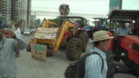 Agricultores asfixiados por deudas y bajos precios en Costa Rica