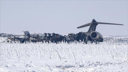 ¿Por qué EEUU calla sobre la caída de su avión en Afganistán?