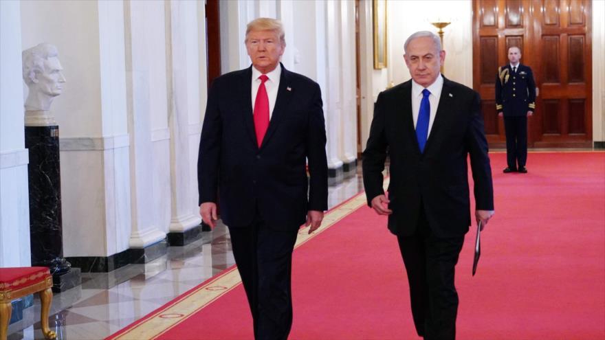 Trump dice que Al-Quds seguirá siendo capital indivisible de Israel | HISPANTV