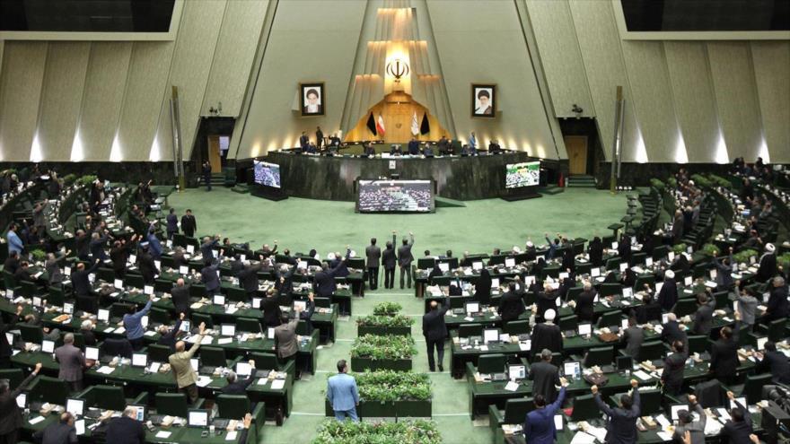Una sesión de la Asamblea Consultiva Islámica (Mayles) de Irán, celebrada en Teherán, la capital, 27 de enero de 2020. (Foto: AFP)