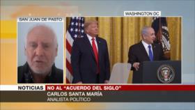 Santa María: El acuerdo del siglo es el plan nazi del 2020