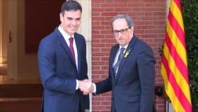 Sánchez se reunirá con Torra, inhabilitado como diputado