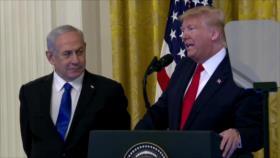 Acuerdo del siglo. Protestas en Palestina. Plan de paz de Trump