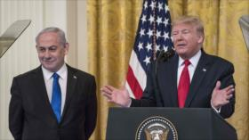 """Ansarolá ve plan proisraelí de Trump una """"violación"""" a Palestina"""