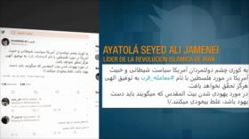 "Líder de Irán y ""acuerdo de siglo"". Liga Árabe. Victoria en Siria"