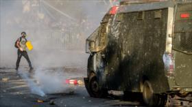 Vídeo: Carabineros atropellan y matan a un manifestante en Chile